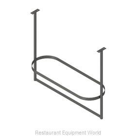 John Boos PRTC3-C Pot Rack, Ceiling Hung