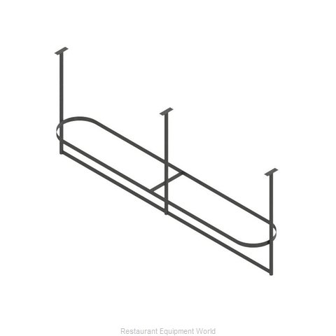 John Boos PRTC4A-C Pot Rack, Ceiling Hung