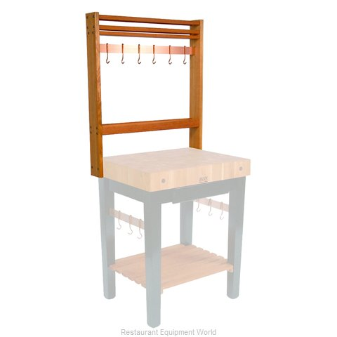 John Boos RN-POTR24 Pot Rack Table Mounted