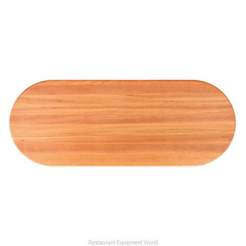 John Boos RTC-3660-OVL Table Top, Wood (Magnified)