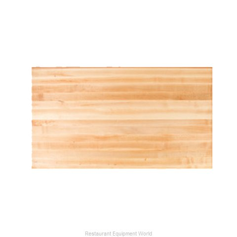 John Boos RTM-3060 Table Top, Wood (Magnified)