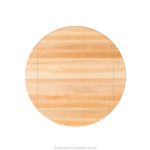 John Boos RTM-60-DL4 Table Top, Wood (Magnified)