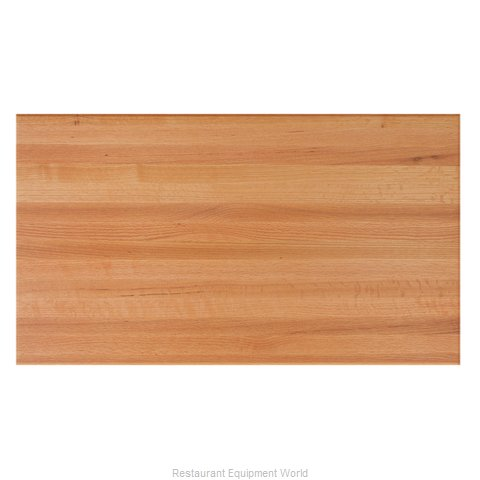 John Boos RTO-2460 Table Top, Wood (Magnified)