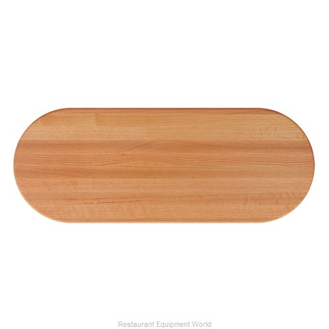 John Boos RTO-3660-OVL Table Top, Wood (Magnified)