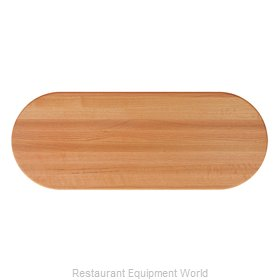 John Boos RTO-4248-OVL Table Top, Wood