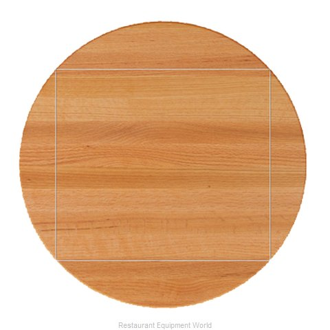 John Boos RTO-60-DL4 Butcher Block Top (Magnified)