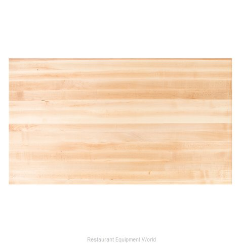 John Boos RTSM-2496 Table Top, Wood (Magnified)