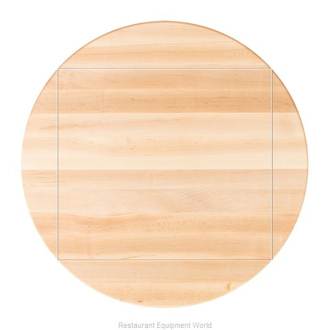 John Boos RTSM-48-DL4 Table Top, Wood (Magnified)
