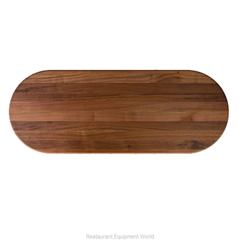 John Boos RTW-3660-OVL Table Top, Wood