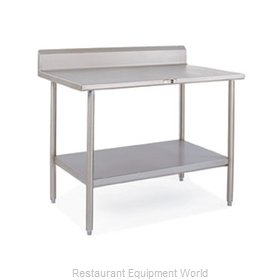 John Boos S14033A Work Table 108 Long Stainless Steel Top