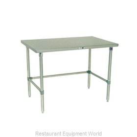 John Boos S14037 Work Table 60 Long Stainless Steel Top