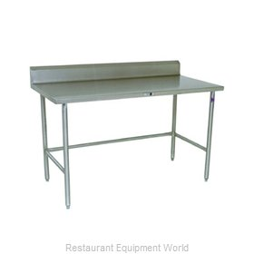 John Boos S14057 Work Table 120 Long Stainless Steel Top