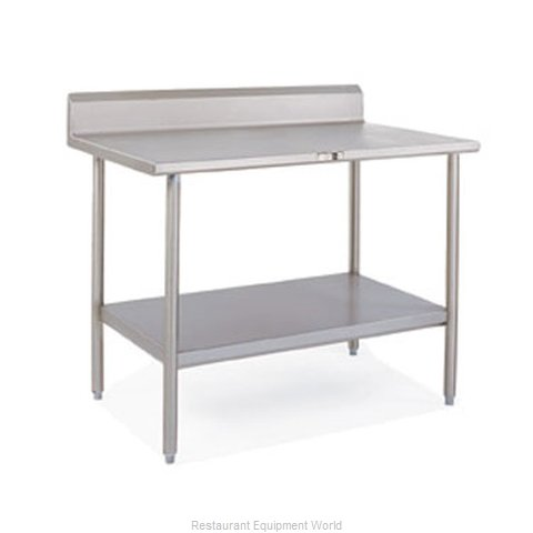 John Boos S14102 Work Table 120 Long Stainless Steel Top