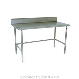 John Boos S14123 Work Table 72 Long Stainless Steel Top