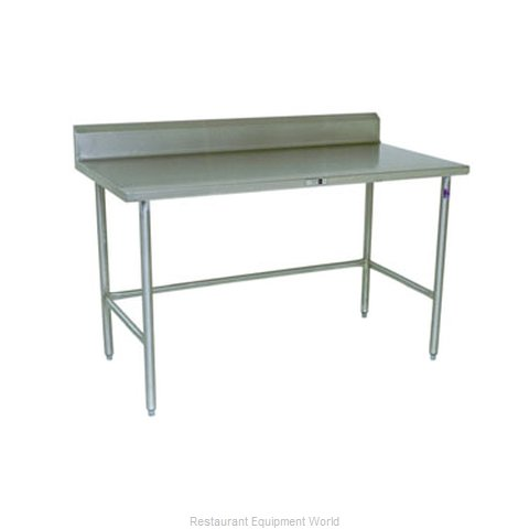 John Boos S14125 Work Table 120 Long Stainless Steel Top