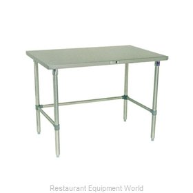 John Boos S16036 Work Table 48 Long Stainless Steel Top