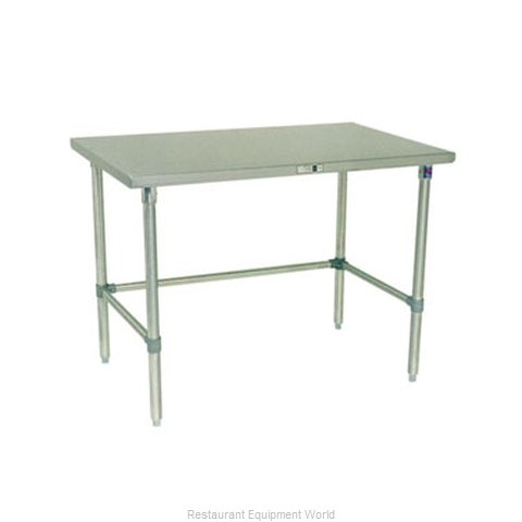 John Boos S16046 Work Table 120 Long Stainless Steel Top