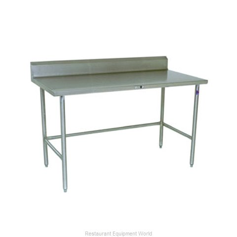 John Boos S16068 Work Table 120 Long Stainless Steel Top