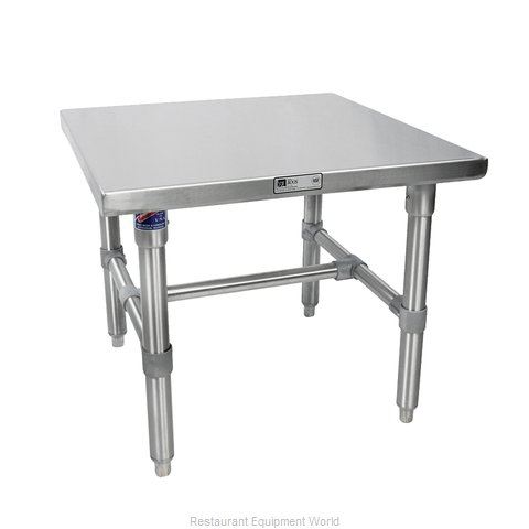 John Boos S16MS05 Equipment Stand, for Mixer / Slicer