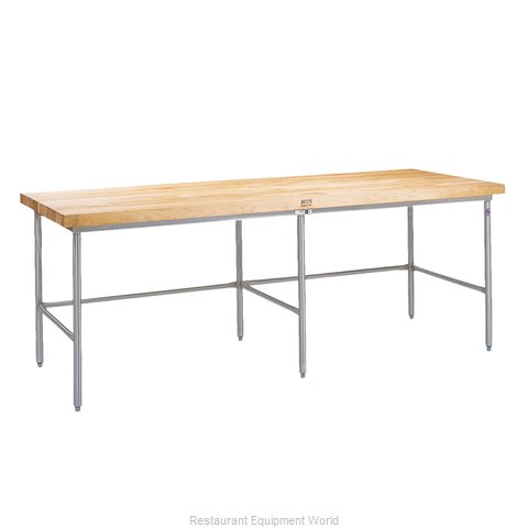 John Boos SBO-S22 Work Table, Frame (Magnified)