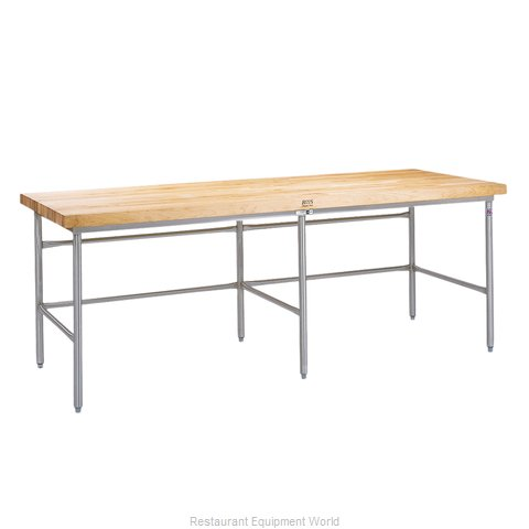 John Boos SBS-S13A Work Table, Frame (Magnified)