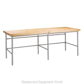 John Boos SBS-S25 Work Table, Frame