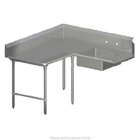 John Boos SDT4-K60144SBK-L Dishtable Soiled