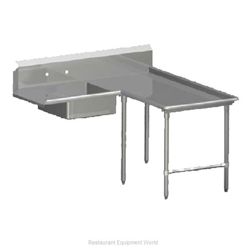 John Boos SDT6-I6084SBK-R Dishtable, Soiled