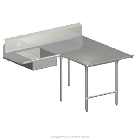 John Boos SDT6-L70144SBK-R Dishtable Soiled