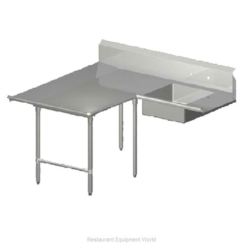 John Boos SDT6-L7084GBK-L Dishtable Soiled