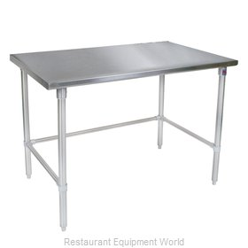 John Boos ST4-3060SBK Work Table,  54