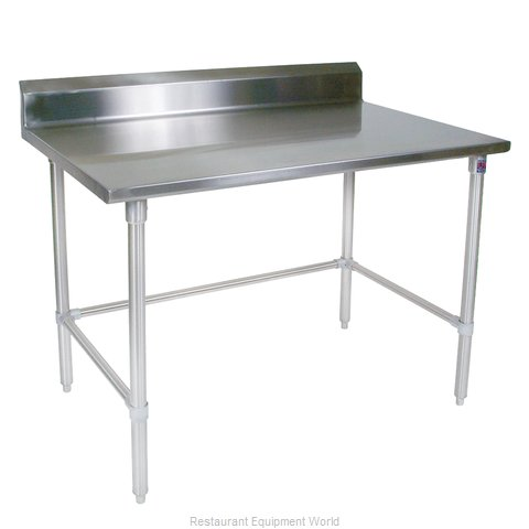John Boos ST4R5-3048GBK Work Table 48 Long Stainless Steel Top (Magnified)