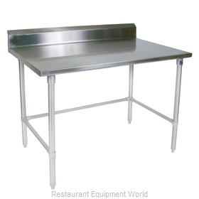John Boos ST4R5-3060SBK Work Table 60 Long Stainless Steel Top