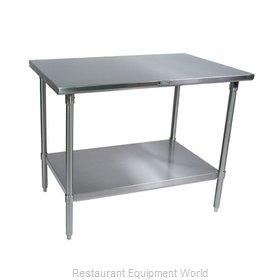 John Boos ST6-3660GSK-X Work Table,  54