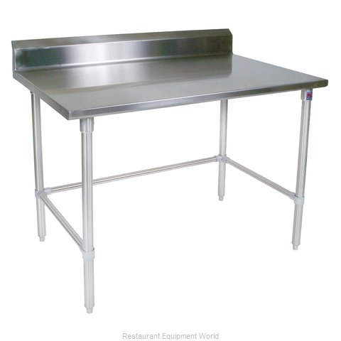 John Boos ST6R5-24120GBK Work Table 120 Long Stainless Steel Top (Magnified)