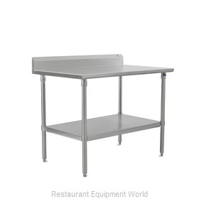 John Boos ST6R5-2460SSK Work Table 60 Long Stainless Steel Top