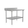 John Boos ST6R5-3048SSK-X Work Table,  40