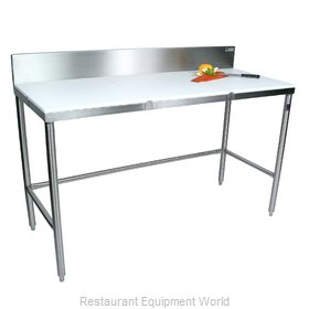 John Boos TC014 Work Table, Poly Top