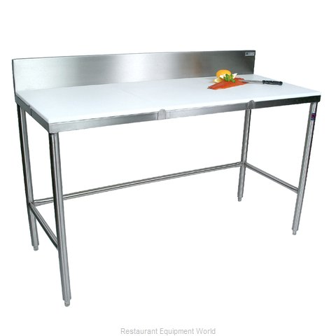 John Boos TC018 Work Table, Poly Top