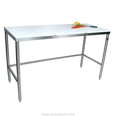 John Boos TC044 Work Table, Poly Top