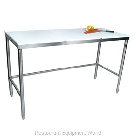John Boos TC046 Work Table, Poly Top