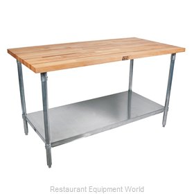 John Boos TNS08 Maple Top Butcher Block Table
