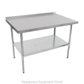 John Boos UFBLS9624-X Work Table, 96
