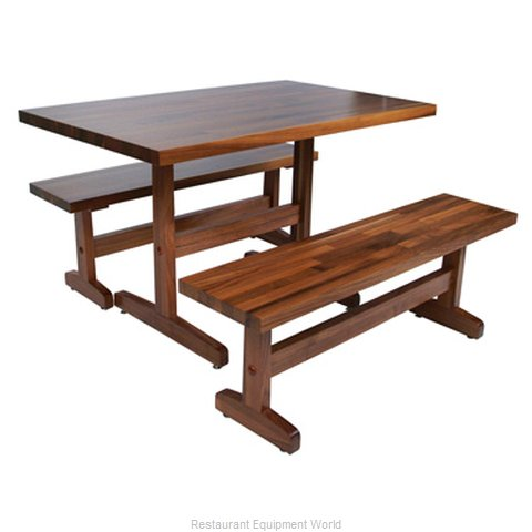 John Boos WALAMFARMTR3072 Table Dining Height Indoor