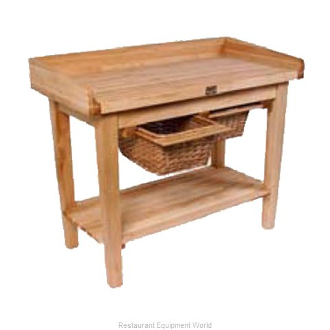 John Boos WH03-O Work Table Wood Top