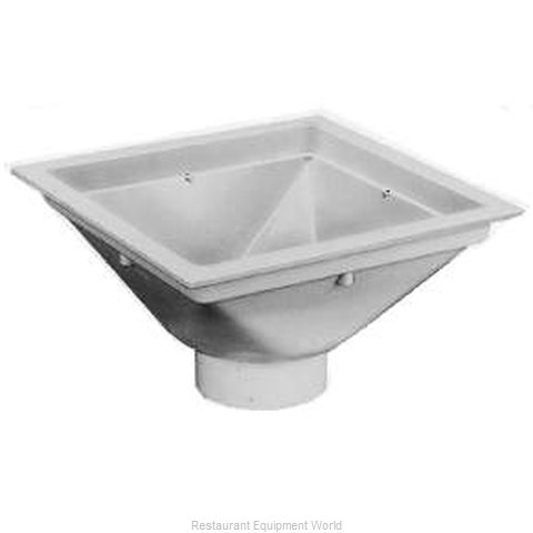 Zurn FD2370-PV4-F-DS PVC Floor Sink