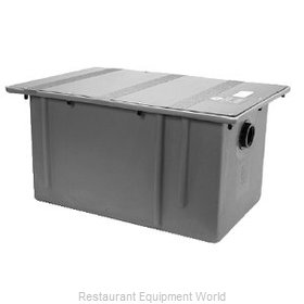 Zurn GT-2702-07 Polyethylene Grease Trap Interceptor - 7 GPM