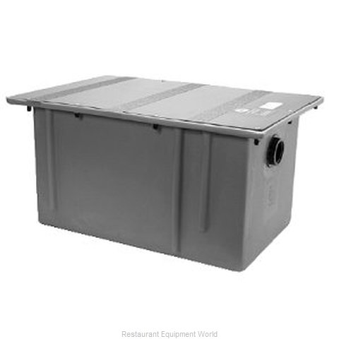Zurn GT-2702-50 Polyethylene Grease Trap Interceptor - 50 GPM