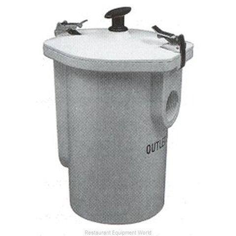 Zurn Z-1180 Solids Grease Trap Interceptor - 15 GPM