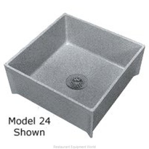 Zurn Z-1996-24 Mop Sink Basin (Magnified)
